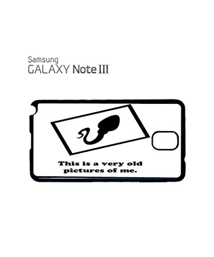 This is a Very Old Picture of Me Sperm Funny Hipster Swag Mobile Phone Case Back Cover Coque Housse Etui Noir Blanc pour for Samsung Note 3 Black Noir