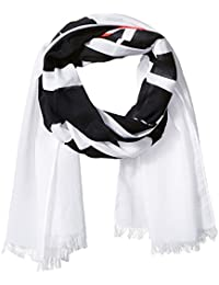 Armani Exchange Men's Large Logo Light Weight Scarf