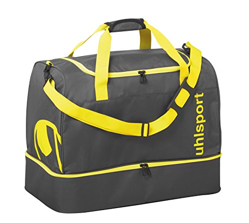 UHL Essential 2.0 Players Sporttasche, 45 cm, 75 liters, Mehrfarbig (Anthracita/Fluo Amarillo)