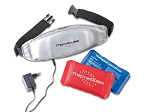 TV Das Original Ceinture de massage Thermapulse Argent