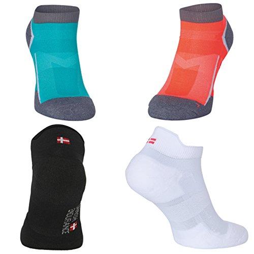 3 pares de Calcetines de Running Low Cut Pro  calcetines de corte bajo  para zapatillas  confort amortiguado  ventilado  transpirable  paneles que extraen humedad  mujeres  hombres  unisex  IDEALES para los deportes  actividades físicas y el uso diario.
