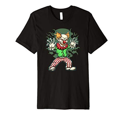 Horror Clown Tshirt Haloween Fasching Geschenk