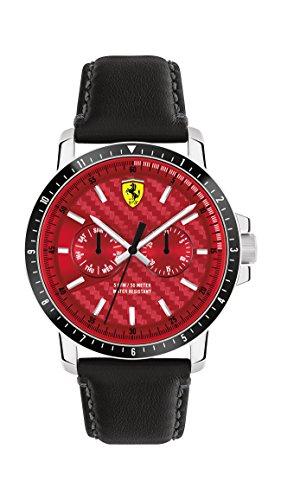 orologio multifunzione uomo Scuderia Ferrari Turbo casual cod. FER0830449