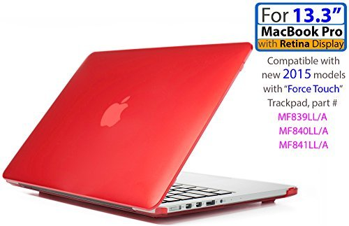 iPearl mCover Hard Shell Hülle für 13Modell A1425/A1502MacBook Pro (mit 13,3Retina Display) (13 Macbook Pro Mcover Ipearl)