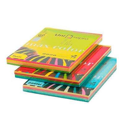 unirepro 049241–Pack von 200Blatt Multifunktionspapier, 80g, A4, mehrfarbig