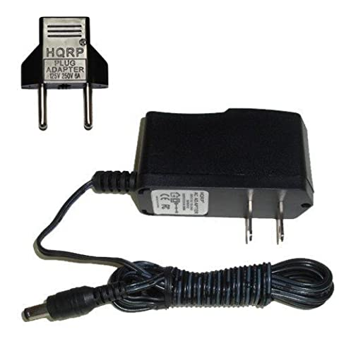 HQRP AC Adaptateur Secteur pour Boss ME-70 / ME-25 ; Boss ME-50B Effets multiples de guitare avec HQRP