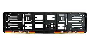 WM-Fanartikel-Kennzeichenhalter-Deutschland