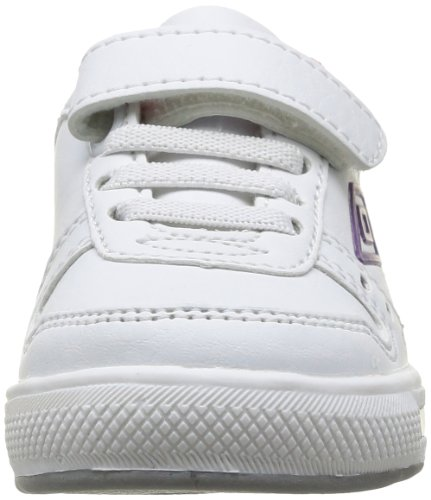 Umbro Clifton Inf, Baskets mode bébé garçon Blanc (151 Blanc/Violet/Rose)