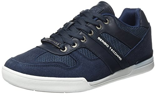 Sergio tacchini san louis 2.0, sneaker a collo basso uomo, blu (navy), 41 eu
