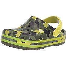 Crocs Crocband Multigraphic Clog Kids, Sabots Mixte Enfant d1674527e9b3
