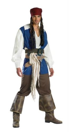 Disguise 5101T Captain Jack Sparrow Kost-m Teen Qualit-t