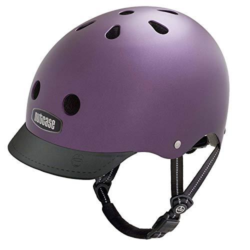 Nutcase Street Helm ,Passion Purple, S