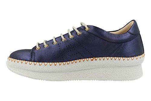 Arte Schuhe 1350 Blu Metallico Mare Pedrera Blau