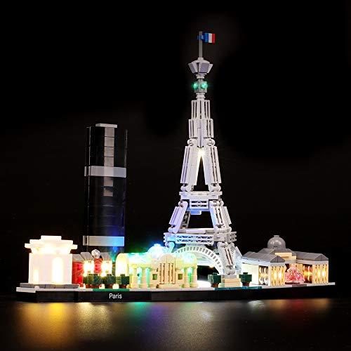 BRIKSMAX Kit Iluminación Led Lego Architecture París