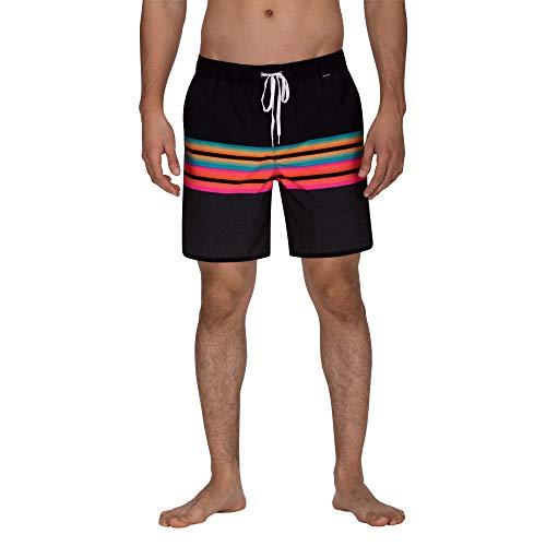 Hurley Herren Shorts M Phantom Zen Volley 17', Black, L, AQ9993 -