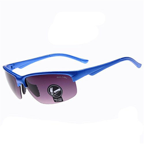 Z-P Fashion Unisex Outdoor Sports Style Bicycle Driving Night Vision Safety Explosion-proof Glasses Ultralight Sunglasses 67MM