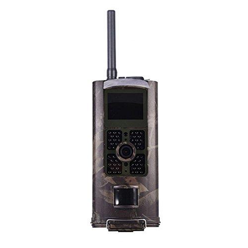 hc-700g Wildkamera, 3g-Überwachungskamera Wasserdicht 1080P HD Weitwinkel Infrarot Nachtsicht für Überwachung von Wildes Tier