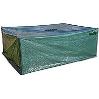 ANSIO Grande Housse de Protection étanche pour Meubles de Jardin/Patio, Taille 2,8x 2,04x 1,06m