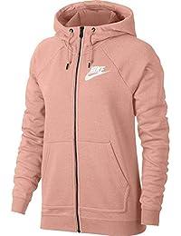 ... Vestes de sport   Nike. Nike W NSW Rally Hoodie Fz Sweatshirt Femme f9bb372d0f8d