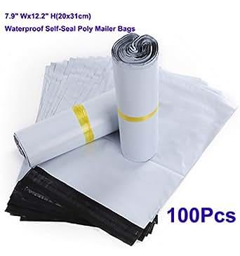 100x versandtaschen 20x31cm druckverschlu beutel polybeutel mit druckverschlu. Black Bedroom Furniture Sets. Home Design Ideas