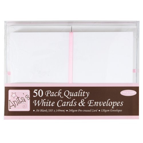 anitas-a6-card-and-envelope-pack-of-50-white