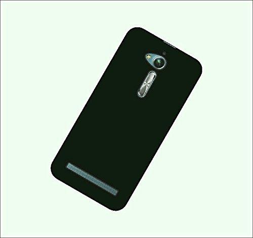 Case Creation Zenfone Go 5.0 Back case,Luxury Rubberized Matte Hard Back Cover for Asus Zenfone Go 5.0 LTE 2nd Gen ZB500KL - Black