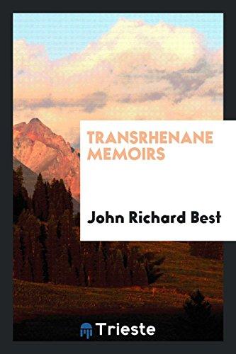 Transrhenane Memoirs