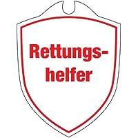 KLK Rettungshelfer Autoschild, Weiß, One Size preisvergleich bei billige-tabletten.eu