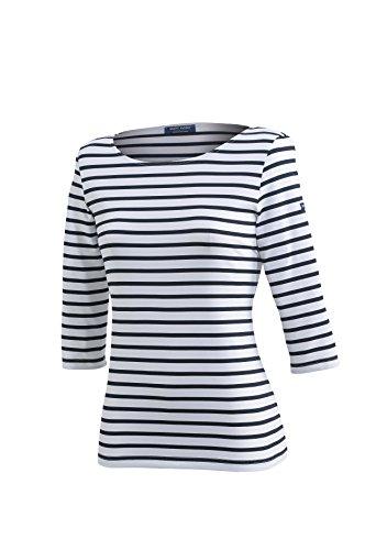 Saint James Garde-Cote - Streifenshirt - Bretagne-Shirts NEIGE NAVY