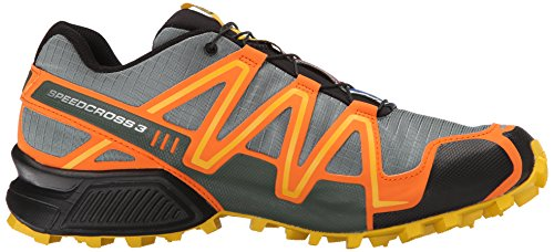 Salomon Herren Speedcross 3 CS Traillaufschuhe Orange (Light TT/Clementine-X/Bee-X)