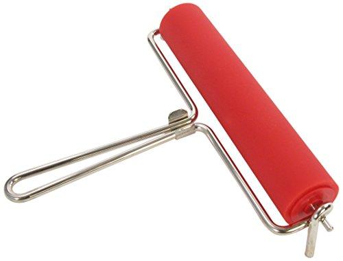 Linol-Farbwalze mit Drahtbügel, Breite 150 mm [Spielzeug]