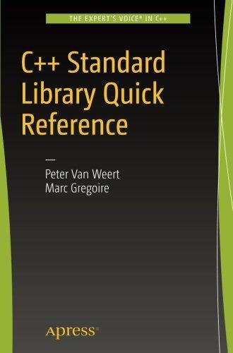 C++ Standard Library Quick Reference por Peter Van Weert