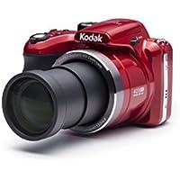 """Kodak Astro Zoom AZ422 Cámara puente 20MP 1/2.3"""" CCD 5152 x 3864Pixeles Rojo - Cámara digital (20 MP, 5152 x 3864 Pixeles, CCD, 42x, HD-Ready, Rojo)"""