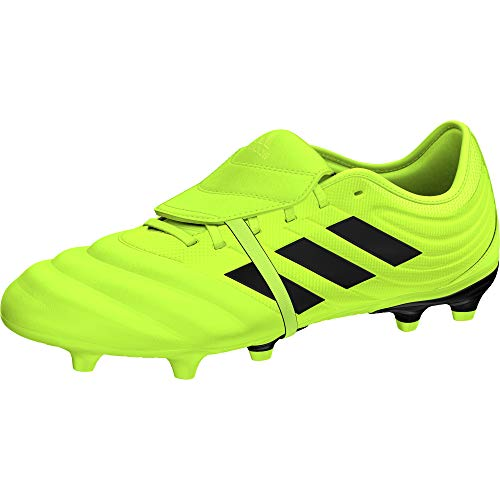 adidas Unisex-Erwachsene Copa Gloro 19.2 Fg Fußballschuhe, Mehrfarbig Core Black/Solar Yellow, 42 2/3 EU