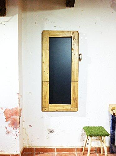 Mesa abatible de pared Mesa pizarra Mesa plegable uso diario Mesa plegable colgada de pared Mesa de madera recuperada reciclada