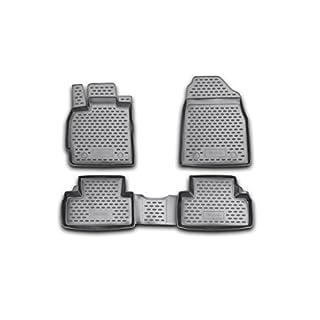Brillant Gummimatten Fußmatten für Compass II (2011-2016)