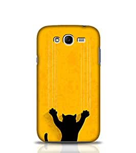 Stylebaby Phone Case Black Cat Back Cover for Samsung Galaxy GrandMulticolor