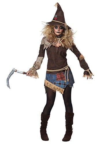 Creepy Scarecrow Womens Fancy dress costume X-Small