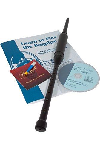 Roosebeck rot Zeder Practice Chanter mit Buch und CD (matt schwarz)