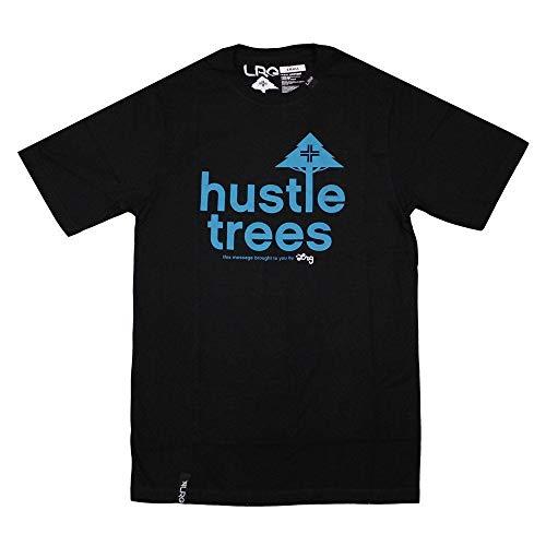 LRG RC Hustle Trees T-Shirt Black - Hustle Trees
