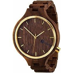 Holz Armbanduhr Eldorado Nut - Herren