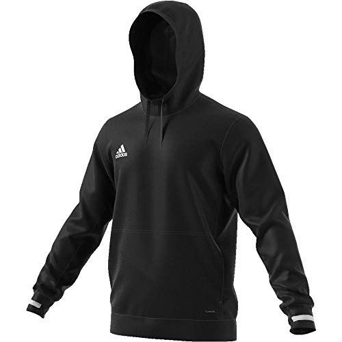 adidas Herren T19 Sweatshirt, Black/White, L Adidas Sweatshirt