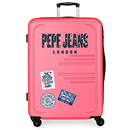 Valigia grande 79cm Pepe Jeans Edison Rosa