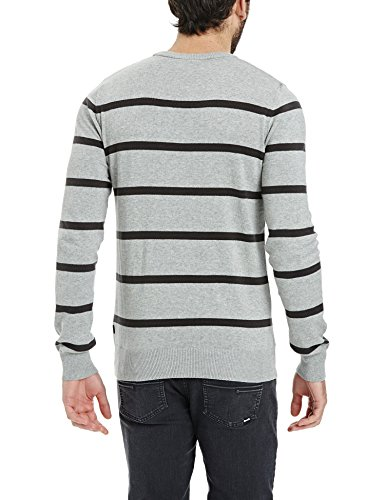 Bench Oeuvre, Pull Homme Gris - Grau (Mid Grey Marl GY001X)