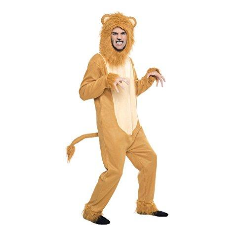 Imagen de disfraz leon talla m/l tamaño adulto