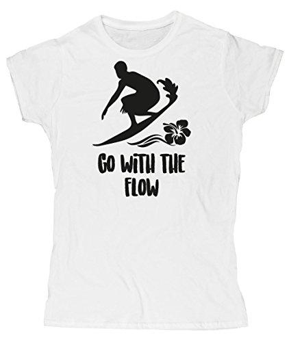 hippowarehouse-t-shirt-femme-x-large-blanc-large