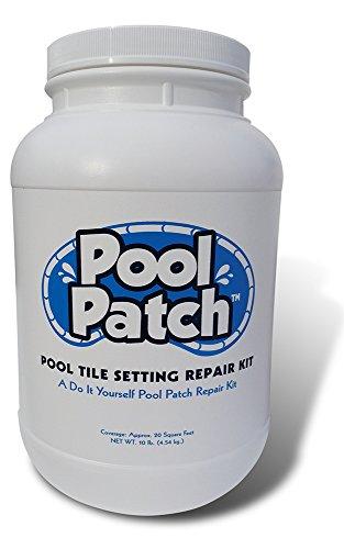 Pool Patch ptsrkg10grau Pool Fliesen Reparatur-Kit, 10-Pound (Zement-patch)