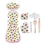 EUTOYZ EUTOYZ 4-12 Jahre Mädchen Geschenk, Kinder Kochen Spielküche wasserdicht Backset Mädchen Spielzeug Mädchen 4-12 Jahre Mädchen Spielzeug(Weiß)