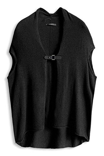 ESPRIT Collection Damen Strickjacke Schwarz (Black 001)