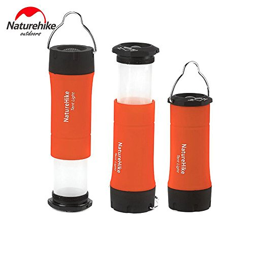 Preisvergleich Produktbild 100Lumens Camping Lamp Outdoor Torch LED Laterne Licht Camping Flashlight Campinglampe Fur Zelt Camping Jagd Bergsteigen(orange)